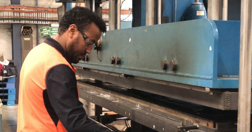 Flexco lagging manufacturing facility