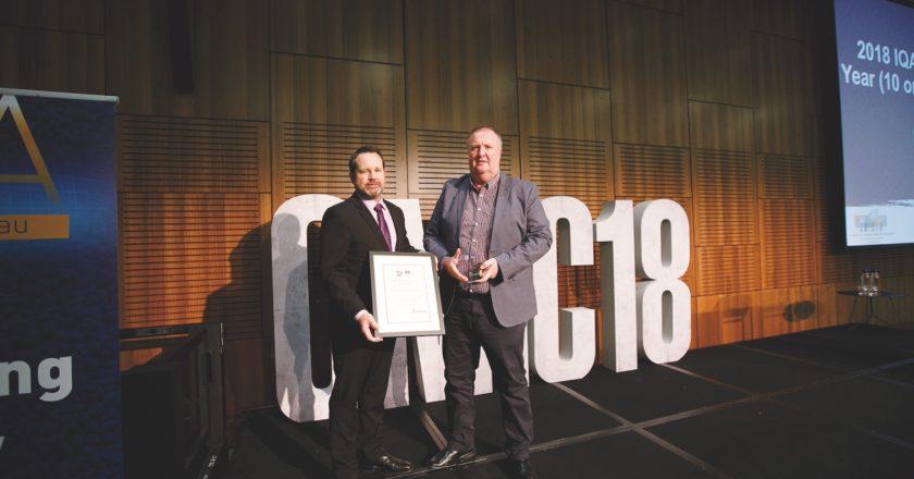 IQA award winner, Steve Butcher