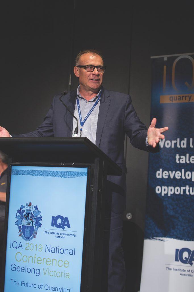 Sean Taylor at IQA 2019 conference